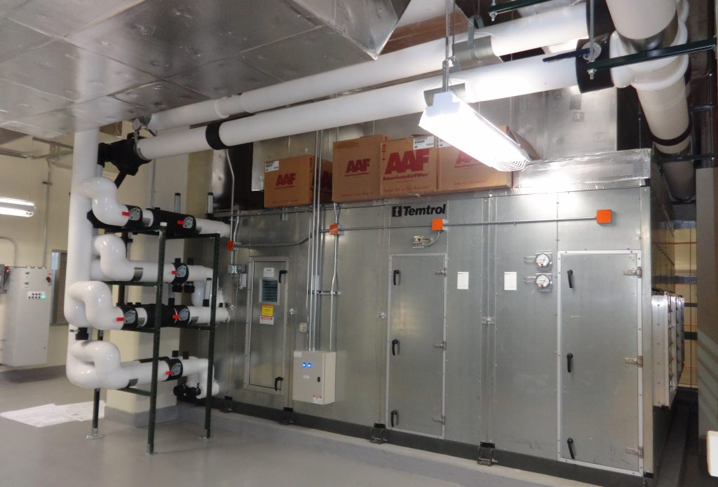 AT&T Olive Toll 8th Floor HVAC Mods Temtrol AHU Piping1 resized